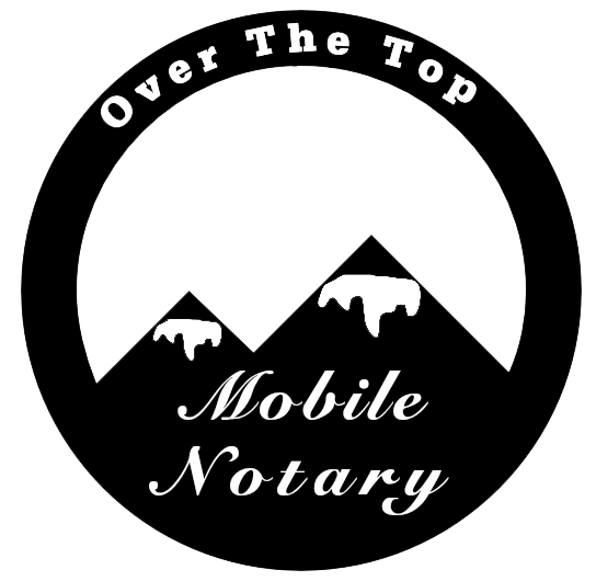 Over The Top Mobile Notary